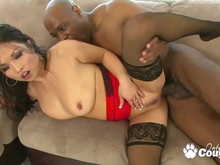 Asian MILF Mia Rider Drains Some Black Balls