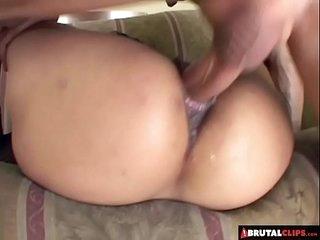 BrutalClips - Loosening Her Asian Holes