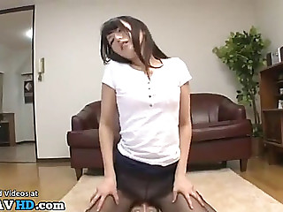 Japanese hose obsession turns in most good sex